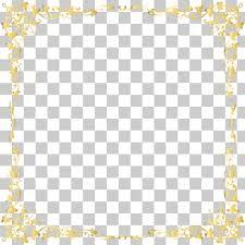 gold frame border square. Gold Frame , Decorative Transparent Border Yellow Floral  Illustration PNG Clipart Gold Border Square