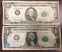 100 bills to deceive detector pen