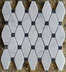 kitchen wall tiles. Octagon Carrara White Marble Mosaic Tiles For Kitchen Backsplash Bathroom  Wall Tile Sticker Floor