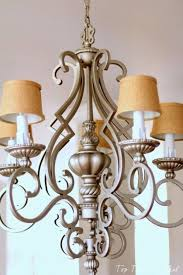 diy chandelier makeovers burlap chandelier makeover easy ideas for old brass crystal and