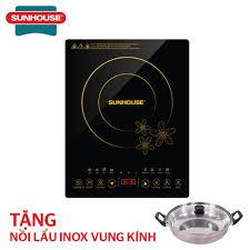 Mua Bếp từ cảm ứng SUNHOUSE SHD6800 tặng kèm nồi lẩu giá rẻ 817.000₫