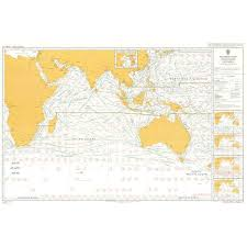 How Many Routeing Charts Are There Admiralty Chart 5126 12 Routeing Indian Ocean December
