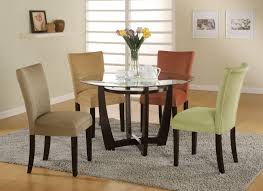 engaging dining room decoration using glass top dining table design enchanting small dining room decoration