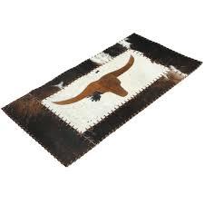 longhorn cowhide rug