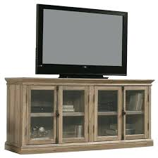 tv stand glass salt oak wood finish stand with tempered glass doors fits up to ikea