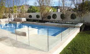 a frameless glass pool fence installed for a suburban adelaide client s swimming pool