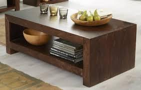 toko large coffee table dark mango wood