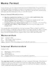 Memos Business Business Memo Template How To Write A Memo Template Examples