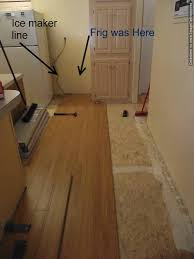 laminate flooring in kitchen installation what i do is to install the