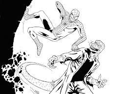Uomo Ragno Da Stampare E Colorare Con Disegni Di Spiderman