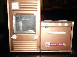 vintage toy argo jr magic chef oven stove 1960s