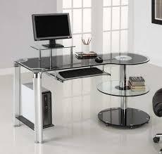 office glass desks. Lovable Ikea Desks Office Glass Desk Home Furniture With  Corner Office Glass Desks O