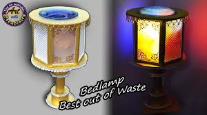 table lamps bedroom lamps lamp lamp shades diy best out of waste art with creativity 208