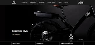 Small Picture A2B Bikes website has a Great Web Design Best Web Designs