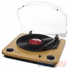 <b>Виниловый проигрыватель ION Max</b> LP — купить по лучшей цене ...