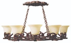 toscana 8 light pot rack in peruvian bronze