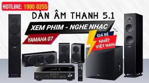 Bộ dàn âm thanh 5.1 yamaha 07, Nghe Nhạc- Xem Phim Gia đình Hay Giá Cực Rẻ  - YouTube