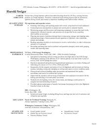 Resume Example For Truck Driver Resume Template