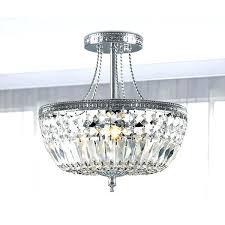 small flush mount chandelier flush mount mini crystal