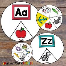 See more ideas about phonetic alphabet, nato phonetic alphabet, alphabet list. Alphabet Phonics Spinners Printable Activity