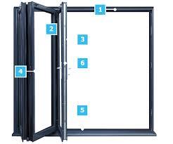 everest aluminium bi fold door