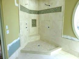 tile over fiberglass shower pan how to install a installing and