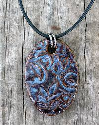 how to make kiln fired clay pendants ons