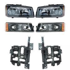 2006 Silverado Parking Light Bulb Details About Headlight Parking Light Lamp Mounting Bracket Lh Rh For Chevy Silverado Truck