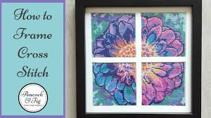 framing cross sch and embroidery projects how to frame needlework