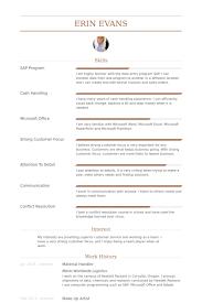 Material Handler Resume samples