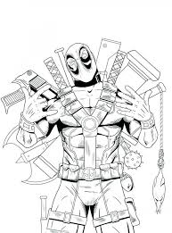 Steven Universe Coloring Pages Lego Deadpool Coloring Pages To Print