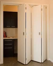Image of: White Bi Fold Doors Interior