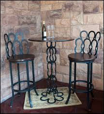 catchy wrought iron bistro table and chairs with fashionable indoor bistro table and chairs design ideas
