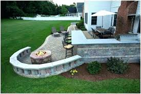 diy stone patio stone patio ideas glamorous backyard stone patio ideas brick diy stone garden bench