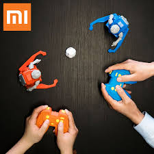 2pcs Original Xiaomi MITU <b>Football Robot Builder DIY</b> Children's ...