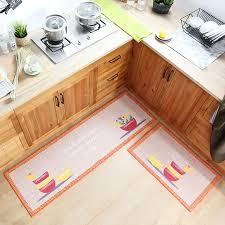 50x80cm 50x160cm kitchen rugs mats soft polyester cotton non slip kitchen floor carpets bathroom
