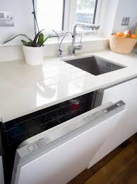 White Kitchen With Granite White Granite Countertops Hgtv