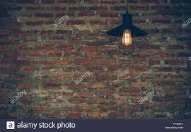 The Brick Lighting Luxury Lighting Decoration Over The Brick Wall Background