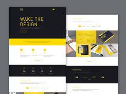 Psd Website Templates Simple Creative Portfolio PSD Web Template 48pxdesigns