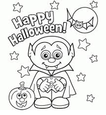 Happy Halloween Coloring Pages Free Download 2018