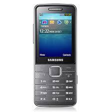 Samsung S5611 Argent - Mobile ...