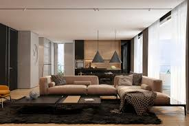 Texture Design For Living Room Two Apartments With Texture One Soft One Sleek