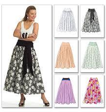 Skirt Patterns Magnificent Butterick 48 Yoked SkirtPattern Review Sew StoreBought
