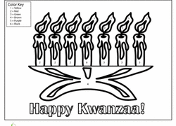 Small Picture Kwanzaa Worksheets Free Printables Educationcom