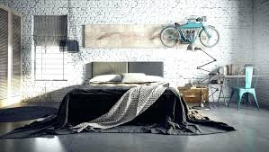 Vintage Industrial Bedroom Decor Style Hanging Bicycle Ideas Styl