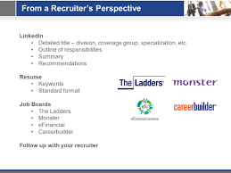 Ask A Recruiter An Insider S Guide To Getting Hired Co Sponsored By