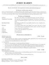 Software Examples For Resume Examples Of Resumes