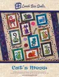 Cat's Meow By Lunch Box Quilts 897820002365 - Quilt in a Day Patterns & Cat's Meow By Lunch Box Quilts Adamdwight.com
