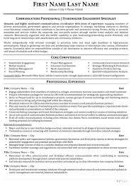 Public Relations Resume Sample Jmckell Com