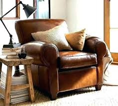 small leather chair. Small Club Chairs. Exellent Chairs Leather Chair Smoking Lounge Red For Bedroom